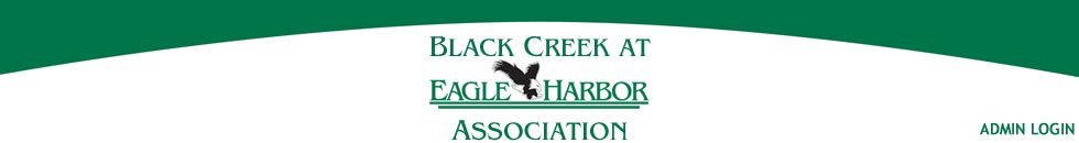Black Creek at Eagle Harbor Association