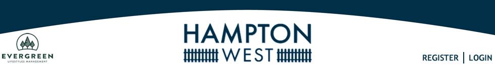 Hampton West Homeowners Association
